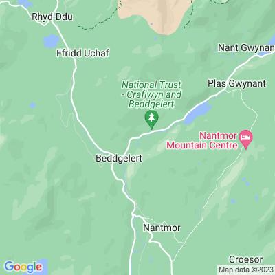 Craflwyn Location