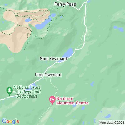 Bryn Gwynant Location