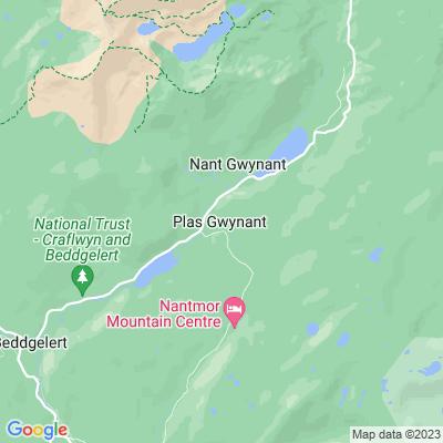 Plas Gwynant Location