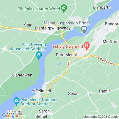Vaynol Location