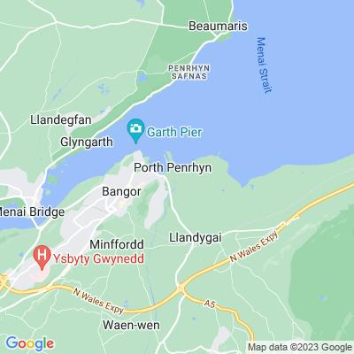 Penrhyn Castle Location