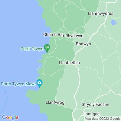 Carreglwyd Location