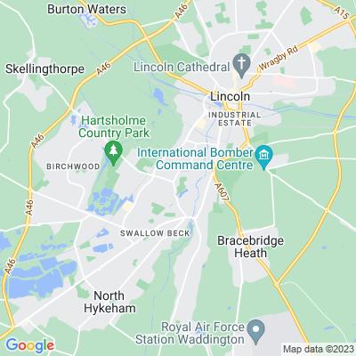 Boultham Park Location
