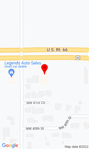 Google Map of LPM Forklift 7700 NW 39th Exy, Bethany, OK, 73008