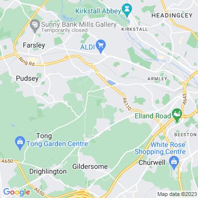 Farnley Hall, Leeds Location