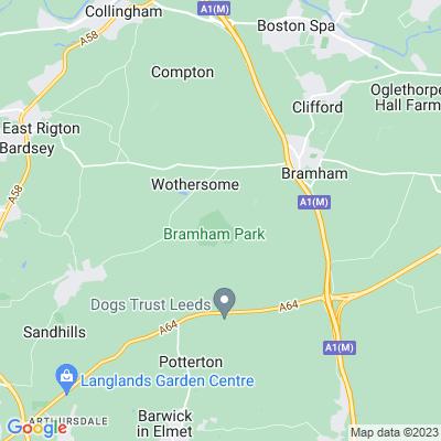 Bramham Park Location