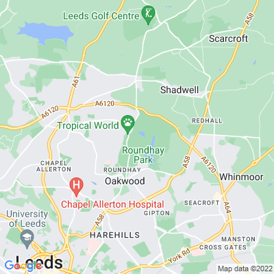 Roundhay Park Location