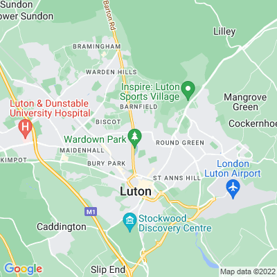 Wardown Park Location