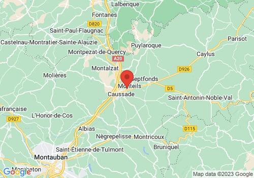 Localisation de Groupe Rouquette