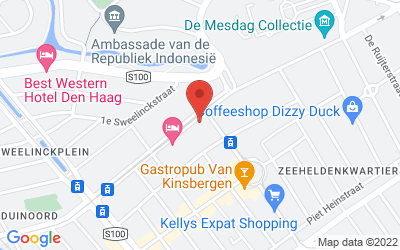 Map of 25 - CourtGarden Hotel Den Haag