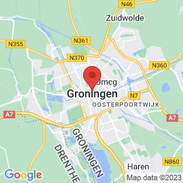 Google map of Pakhuis Waterborg, Groningen