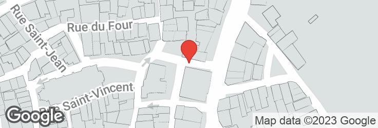 Carte de l'emplacement de la ligne de départ