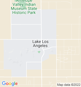 Lake Los Angeles CA Map