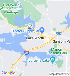 Lake Worth TX Map