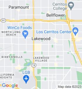 Lakewood CA Map