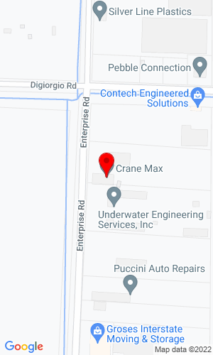 Google Map of Land Equipment, Inc. 3302 Enterprise Road, Fort Piece, FL, 34982,