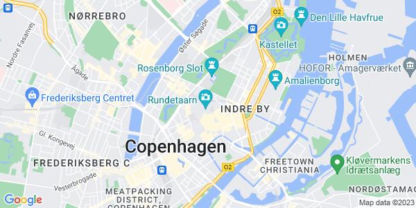 Et kort over Copenhagen Business Academy