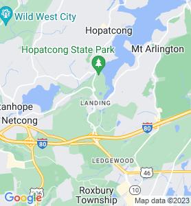 Landing NJ Map