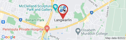 Langwarrin google map