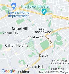 Lansdowne PA Map