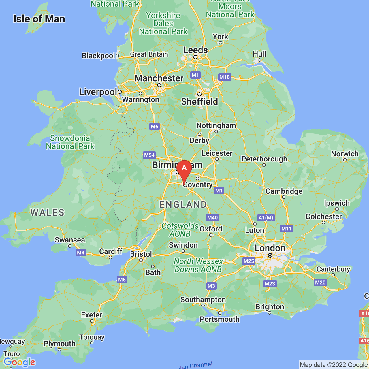 Lapworth, England Map