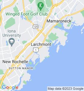 Larchmont NY Map