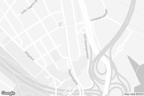 Google Map of Lars Hilles gate 30, Bergen, Norway