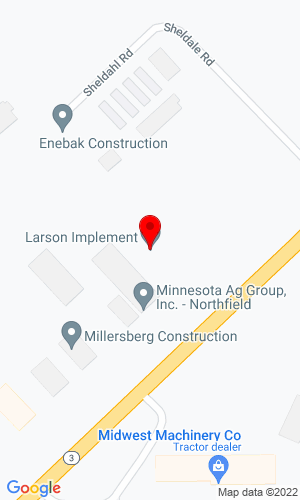Google Map of Larson Implement 32907 Northfield Blvd, Northfield, MN, 55057