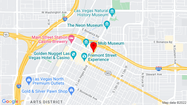 Google Map of Las Vegas