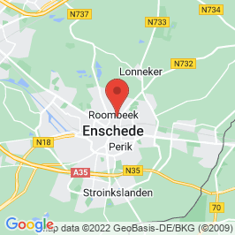 Google map of Los hoes 'Groot Bavel', Enschede
