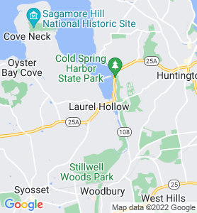 Laurel Hollow NY Map
