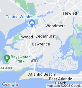 Lawrence NY Map