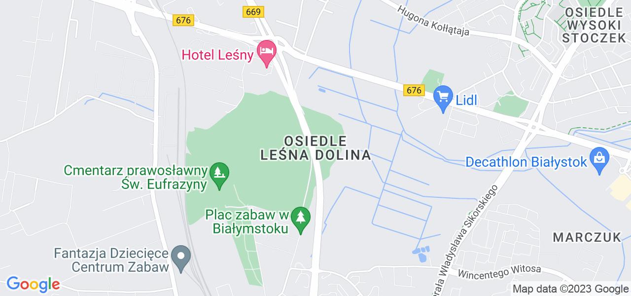 Osiedle Leśna Dolina w Białymstoku – w tych punktach ekspresowo wyślesz turbinę do autoryzowanego serwisu