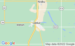 Map of Leduc Lions Club RV Park & Campground