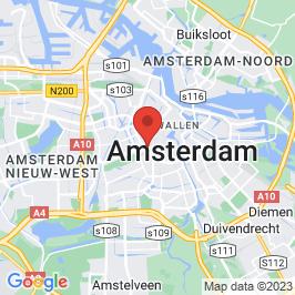 Google map of Hirschgebouw, Amsterdam
