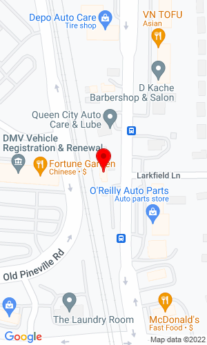 Google Map of Leonard Truck & Trailer 12800 Leonard Parkway, North Jackson, OH,  44451