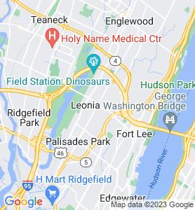 Leonia NJ Map
