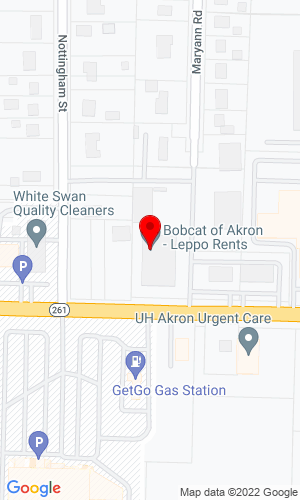 Google Map of Leppo Equipment 176 West Ave., Tallmadge, OH, 44278