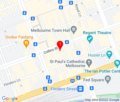 Google Map of Australia
