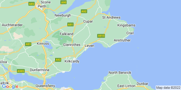 Leven on the Map