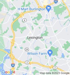 Lexington MA Map