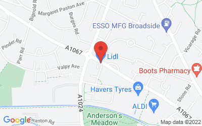 Map of LIDL Drayton Road