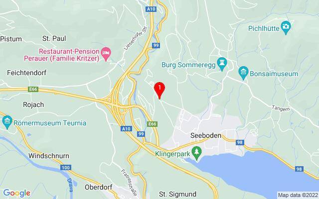 Routenplaner Lieseregger+Straße+95,+9871+Seeboden
