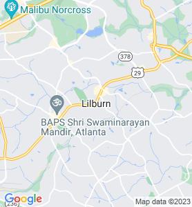 Lilburn GA Map