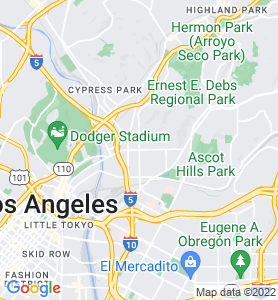 Lincoln Heights CA Map