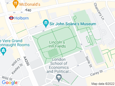 Personal Injury Solicitors in Lincoln's Inn Fields