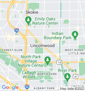 Lincolnwood IL Map