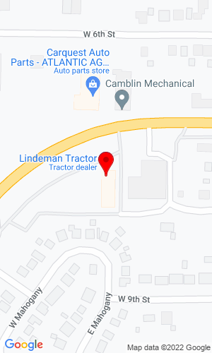 Google Map of Lindeman Tractor 715 West 7th, Atlantic, IA, 50022