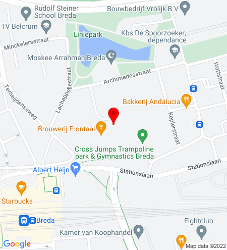 Google Map of Liniestraat 31 4816 BG Breda