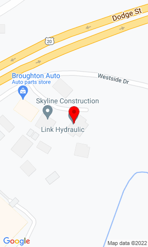 Google Map of Link Hydraulic & Supply, Inc. 180 Westside Court, Dubuque, IA, 52003